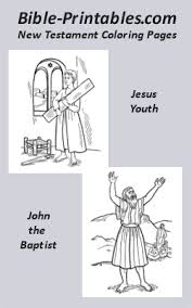 Bible Appealing New Testament Coloring Pages