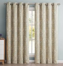 Pottery Barn Curtains Grommet by Amazon Com Hlc Me Paris Paisley Damask Thermal Blackout Grommet