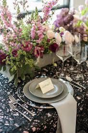 Modern Romantic Wedding Reception Tables