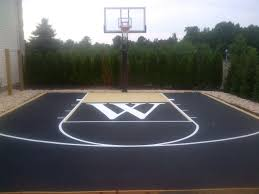 Backyard Basketball Court Ideas Backyard Basketball Court Designs ... Outdoor Courts For Sport Backyard Basketball Court Gym Floors 6 Reasons To Install A Synlawn Design Enchanting Flooring Backyards Winsome Surfaces And Paint 50 Quecasita Download Cost Garden Splendid A 123 Installation Large Patio Turned System Photo Album Fascating Paver Yard Decor Ideas Building The At The American Center Youtube With Images On And Commercial Facilities