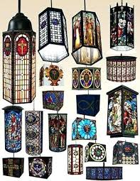 stained glass hanging light fixtures blogie me