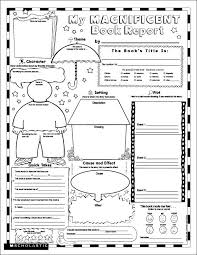 Halloween Picture Books For 4th Grade by For 4th Grade 7 Best Images Of Free Printable Book Report