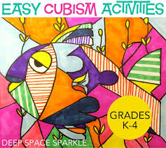 An Easy Cubism Art Project To Do With Your Kids All You Need Is Card