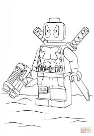 Click The Lego Deadpool Coloring Pages To View Printable