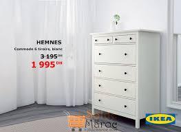 commode hemnes 6 tiroirs promo ikea maroc commode 6 tiroirs hemnes 1995dhs les soldes et