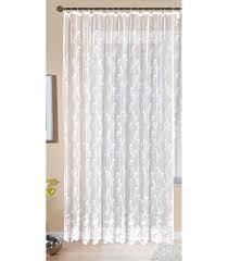 gardine store jacquard mainz hxb 245x300 cm kräuselband universalband weiß blumenmuster transparent voile vorhang wohnzimmer 13144