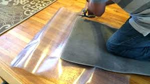 Plastic Carpet Cover Roll Protector Film With Clear And Runner
