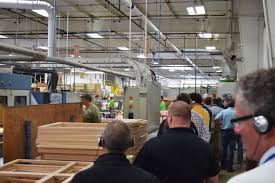 european wood manufacturing investment wows u s visitors
