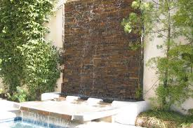 Garden Wall Features Ideas Fountains Outdoors Design