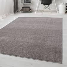 kurzflor flachflor teppich wohnzimmerteppich einfarbig gabbeh optik beige