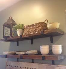 Reclaimed Wood Shelf Barn Floating Shelvesstorage And Organization MADE