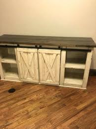 Tv Stand Rustic Wood Farmhouse Console Media By Diy