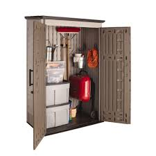 rubbermaid 4 ft x 2 ft 5 in large vertical storage shed
