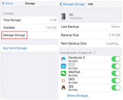 Fix iCloud Backup Failed Issue