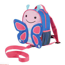 Skip Hop Pink And Blue Butterfly Zoo Safety Harness
