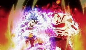 My Gif Dragon Ball Super Son Goku Jiren Anime