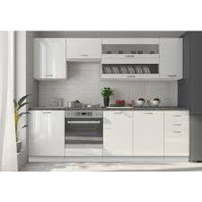 meuble haut cuisine laqué meuble de cuisine blanc laqu element de cuisine pas cher cuisine