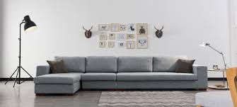 canap d angle design tissu canapé d angle en tissu gris a prix usine