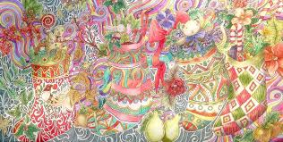 Colouring On Twitter Coloured By Heidi From Magical Christmas LizzieMCullen Tco ZHiHQhFtBe