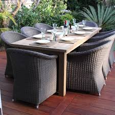 Amazonia Teak Patio Furniture by Reclaimed Teak Rectangle Dining Table 2 4 M