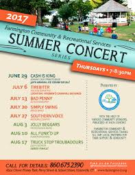 Summer Concert - SIMPLY SWING | Public Events List | Town Of ...