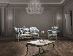 casa padrino luxury baroque living room set turquoise antique silver 2 sofas 2 armchairs 1 coffee table furniture in baroque style noble