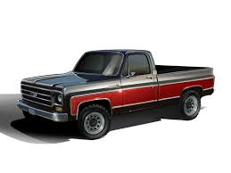 100 Chevy Truck Performance ERODPowered 1978 4X4 Combines Classic Style With