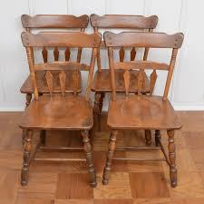 Warm Temple Stuart Dining Room Furniture 97 Vintage Modern Chairs Ebay Maple Oak Hill