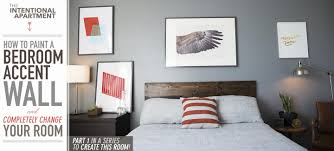 Paint Colors Living Room Accent Wall by How To Paint A Bedroom Accent Wall And Completely Change Your Room