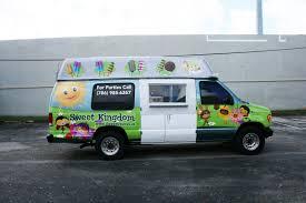 Ice Cream Truck Van, Kona Ice Truck For Sale | Trucks Accessories ...