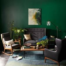 wandfarbe in grün farbideen wandgestaltung sessel sofa