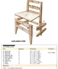 woodworking plan for dining chair complete woodworking plans with