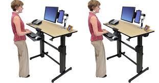 Ergotron Workfit D Sit Stand Desk by Best Standing Desks Reviews 2017 Top 10 Highest Sellers Brands