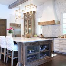 White Kitchen Ideas Pinterest by White Kitchen With Natural Wood Accents Oldseagrovehomes