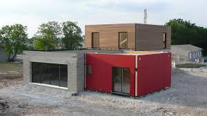 chantier de la construction maison bois écologique ecop habitat