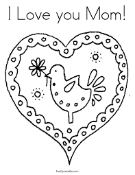 Fresh Ideas I Love My Mommy Coloring Pages Mom Cooloring Pictures