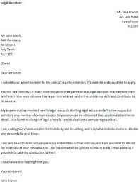 Sample Legal Secretary Resume Cover Letter This Is Assistant