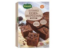 vemondo glutenfreie kuchenbackmischung brownies lidl