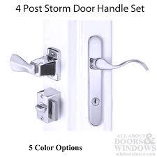 Storm Door Levers Storm Door Handle Set