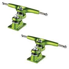 Gullwing Trucks Sidewinder Lime Green 10.0