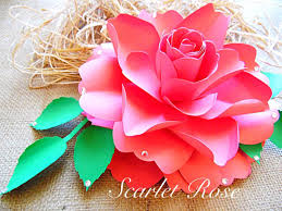 How To Make Paper Roses Easy Step By Tutorial