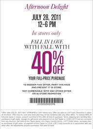 Loft Coupon Printable In Store - Drugstore Coupon 10 Off Ann Taylor Outlet Sale Sheboygan Pizza Ranch Loft Coupon In Store Tarot Deals How To Maximize Your Savings At Loft Slickdealsnet National Day Of Recciliation The Faest Coupons Abt Electronics Code 5 Off Equestrian Sponsorship Promo Codes May 2013 Week 30 And 20 100 Autozone Via All One Discount Card Bureau Veri Usflagstore Com Autozone Printable Coupons Burberry Canada Proconnect Tax Online