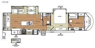 Wildwood Fifth Wheel Floor Plans Colors New 2016 Forest River Rv Wildwood Heritage Glen 386fbk Fifth Wheel