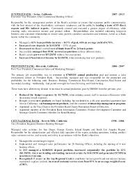 Commercial Banking Resume Example Bank Loan Officer Sample Banker Template