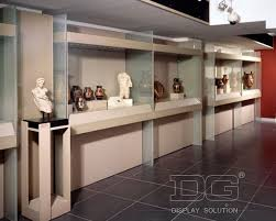 MD05 White Museum Wall Display Cabinet