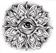 Eye Coloring Page Auromas Download Pages