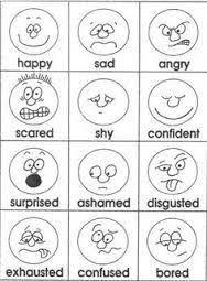 Resultado De Imagen Para Emotions Coloring Pages Printable
