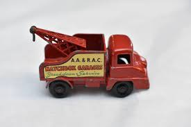 100 Matchbox Tow Truck Lesney No13 Ford Thames Wreck Made In