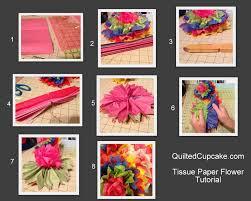 Craft Wars Tissue Paper Flowers Tutorial