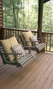 Wood Porch Swing Frame Sets With Stand Wooden Swings Menards